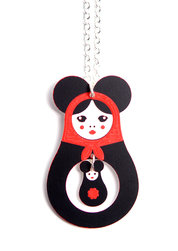 Big Mousematryoshka Necklace – as long as stocks last