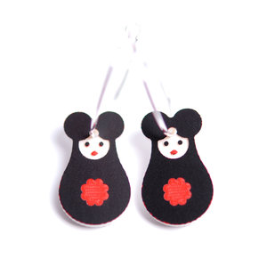 Mini Mousematryoshka Earrings