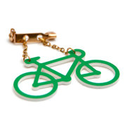 Bicycle Brooch