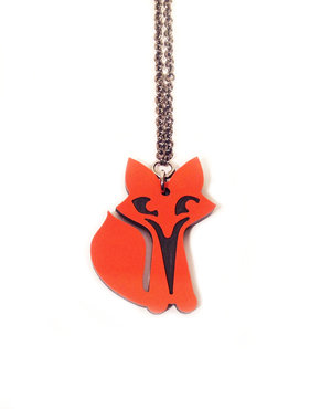 Small Fox Necklace