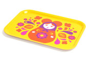 Mousmatryoshka Tray Yellow