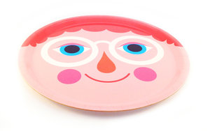 Hipp!ster Round Tray Pink